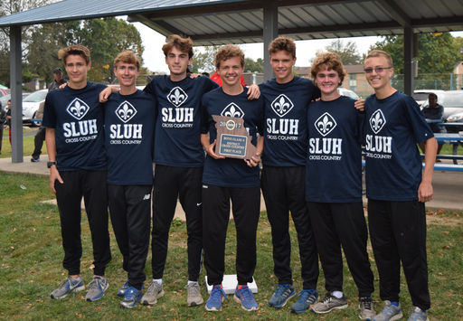 SLUH XC: District Champions!