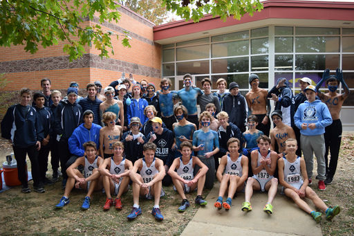 SLUH XC Dominates Sectionals
