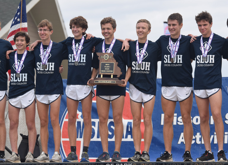 SLUH XC Takes 2nd At State!